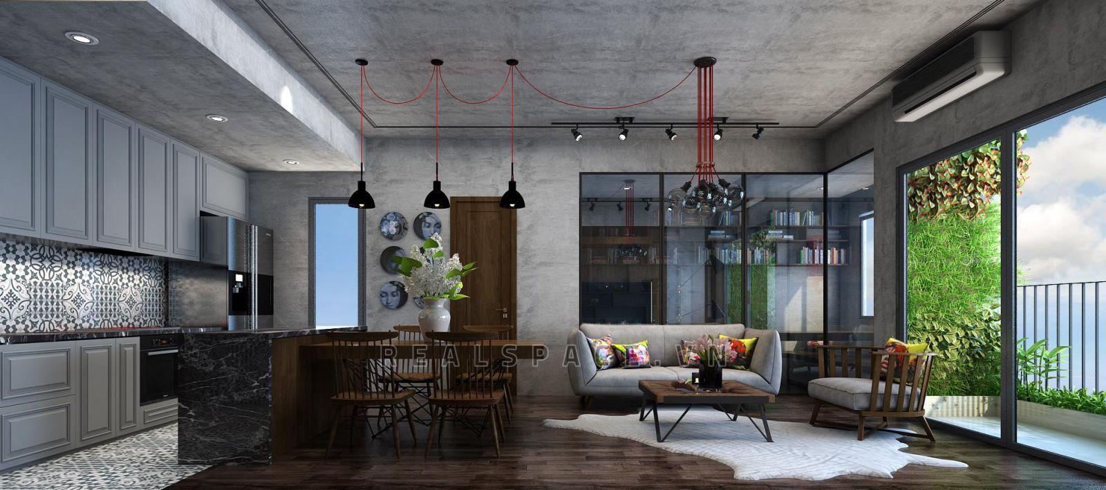 Thiết kế nội thất chung cư hiện đại tại Ecolife Tố Hữu - Anh Hoàng