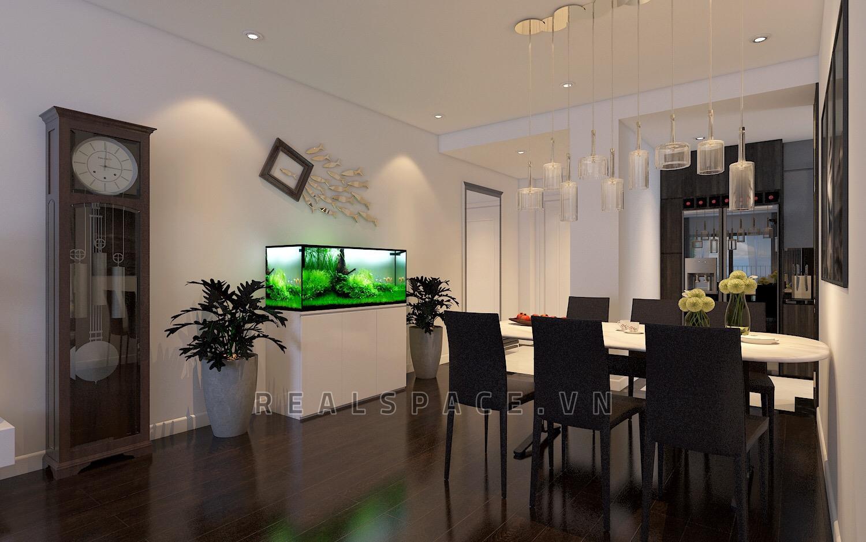 Thiết kế chung cư hiện đại cao cấp tại Rainbow Văn Quán