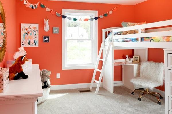 Màu sắc trong thiết kế nội thất sẽ ảnh hưởng như thế nào tới hành vi của trẻ?