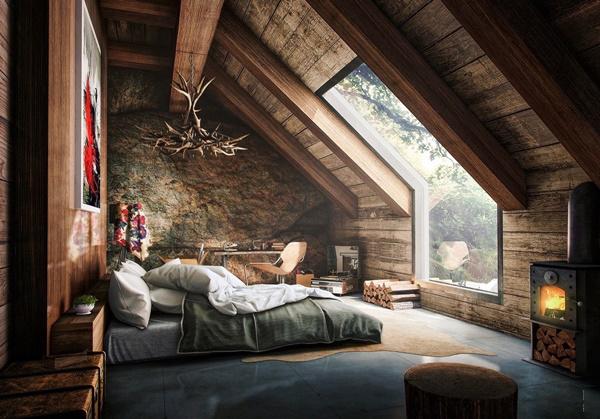 20 ý tưởng thiết kế phòng ngủ áp mái đẹp