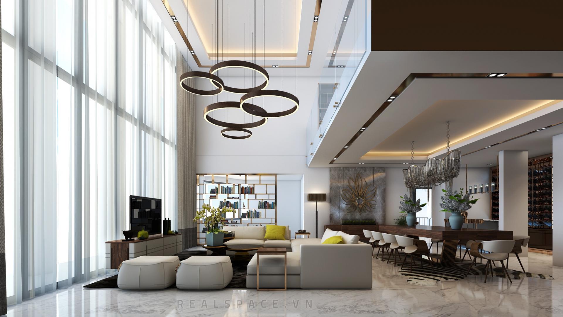 Thiết kế nội thất căn hộ chung cư Duplex tại Ciputra - Anh Trường